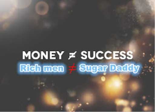 rich men not equal sugar daddy
